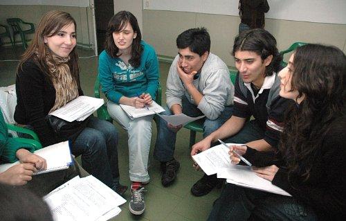 Grupo de estudio en Francia