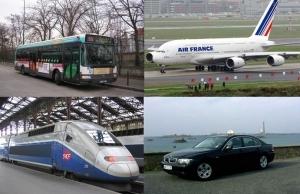 Medios de transporte en Francia