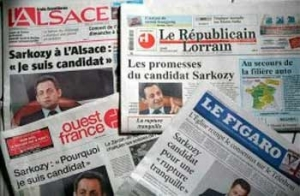 Periódicos franceses
