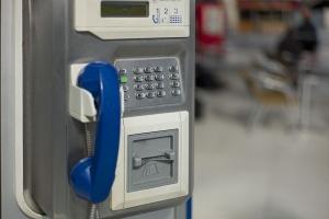 Cabina telefónica en París